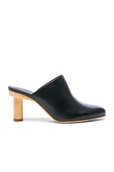 Leather Zoe Mules