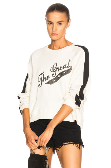 Crop Logo Sweatshirt