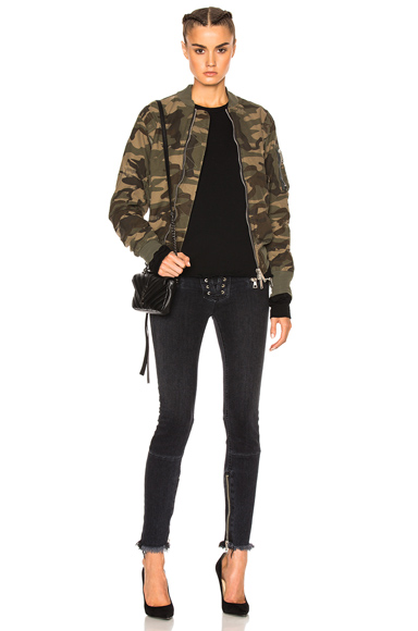 Reconstructed Bomber Jacket
