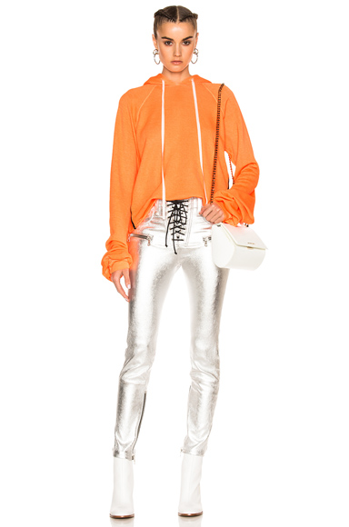 for FWRD Cropped Oversized Sleeve Hoodie