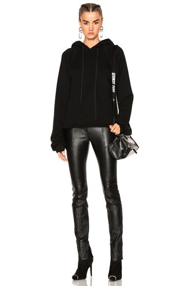 Oversized Sleeve Cashmere Hoodie