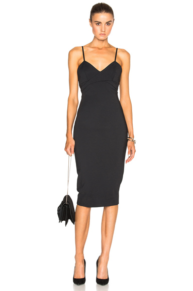 Microbrush Cami Fitted Dress