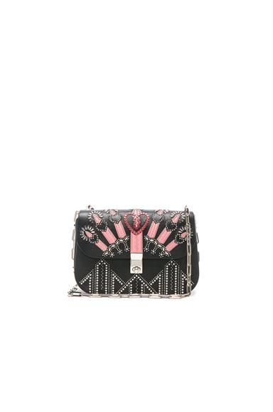 Metal Loveblade Crossbody Bag