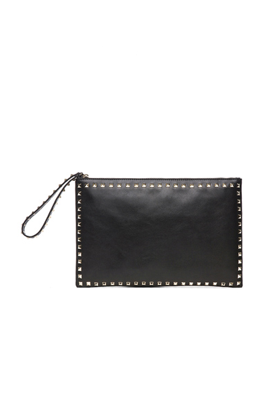 Small Rockstud Clutch