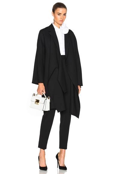 Tie Front Coat
