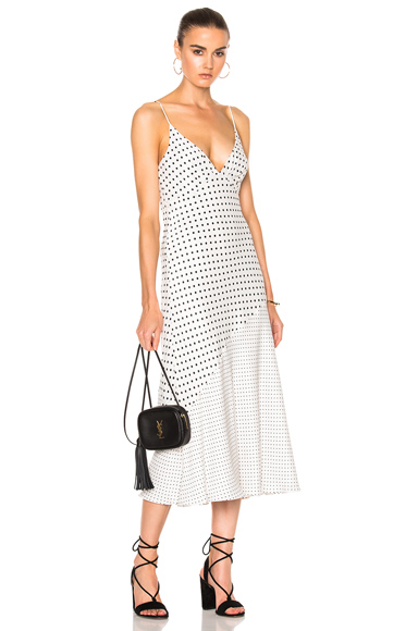 Stranded Tuck Slip Dress