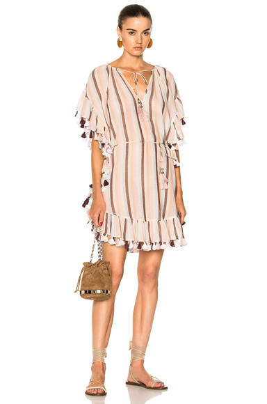 Jasper Stripe Smock Dress