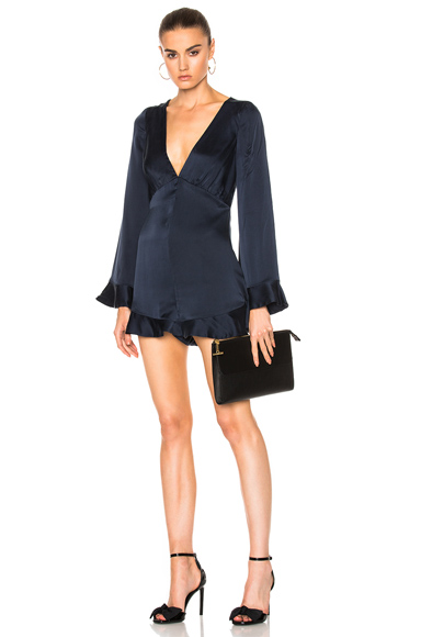 Sueded Tuck Playsuit