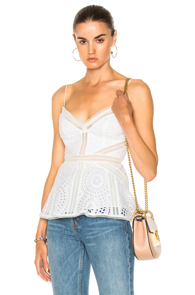 Meridian Embroidered Cami Top