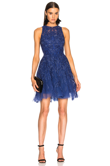 Embellished Sleeveless Mini Dress